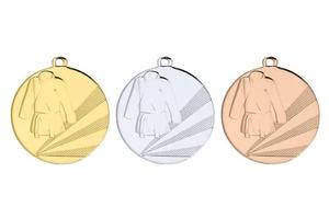Judo Medaille D112D Ø 50 mm