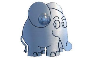 Edelstahl-Klingel Elefant 805013