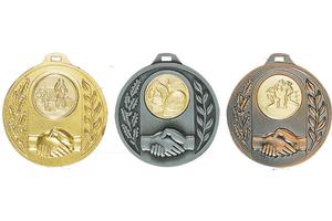Metall Medaille 024L Ø 60 mm