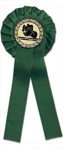 Turnierschleife grün