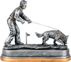 3D Pokal Hundeführer PCM1156