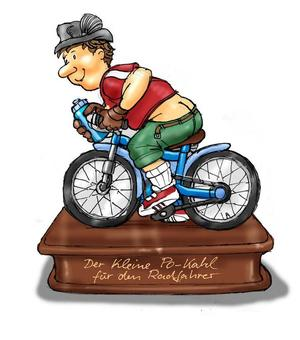 Po-kahl Radfahrer