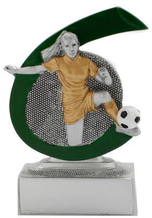 Fußballerin Pokal FG268