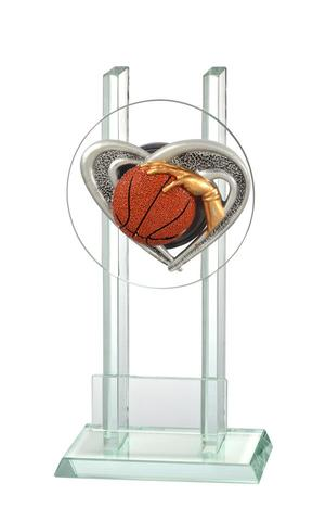 Glastrophäe Basketball FG2511