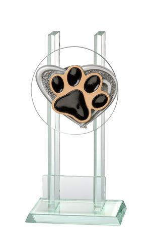 Glastrophäe Hundesport FG2521