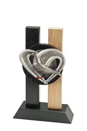 Holz Pokal Taube FG2512