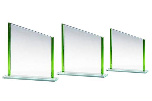 Jade-Glas Trophäe 6767x