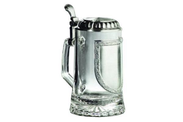 Glasbierseidel Wappen 704