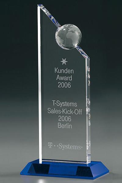 Globe Exellence Award 7956