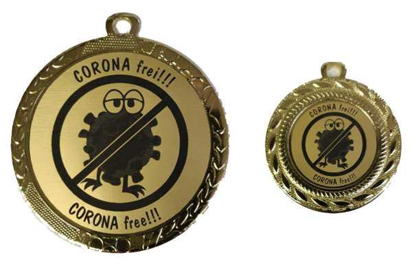 Coronavirus Medaille