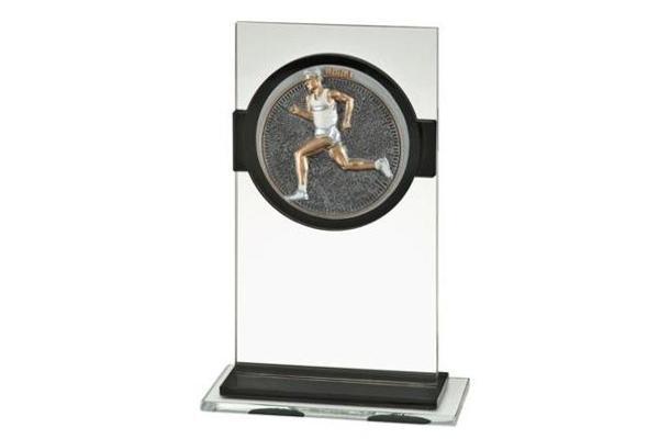Glas Pokal Laufen Männer FG030